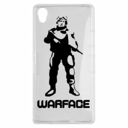 Чехол для Sony Xperia Z1 Warface - FatLine
