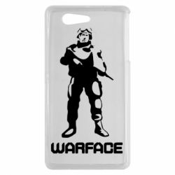 Чехол для Sony Xperia Z3 mini Warface - FatLine