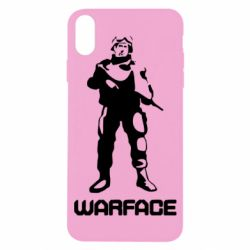 Чехол для iPhone X Warface - FatLine