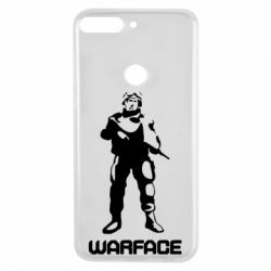 Чехол для Huawei Y7 Prime 2018 Warface - FatLine