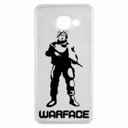 Чехол для Samsung A3 2016 Warface - FatLine