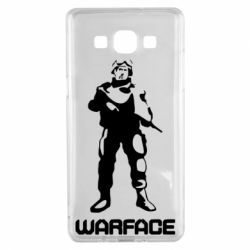 Чехол для Samsung A5 2015 Warface - FatLine
