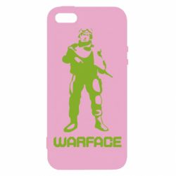 Чехол для iPhone5/5S/SE Warface - FatLine