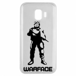Чехол для Samsung J2 2018 Warface - FatLine