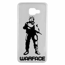 Чехол для Samsung A7 2016 Warface - FatLine