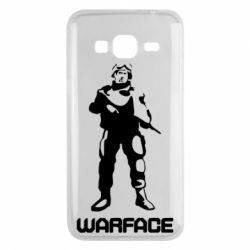 Чехол для Samsung J3 2016 Warface - FatLine