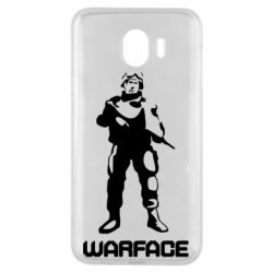 Чехол для Samsung J4 Warface - FatLine