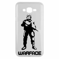 Чехол для Samsung J7 2015 Warface - FatLine