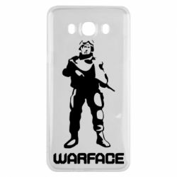 Чехол для Samsung J7 2016 Warface - FatLine