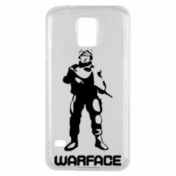 Чехол для Samsung S5 Warface - FatLine