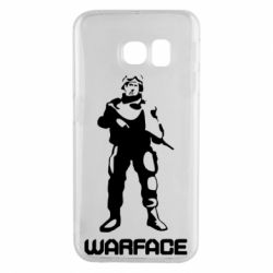 Чехол для Samsung S6 EDGE Warface - FatLine