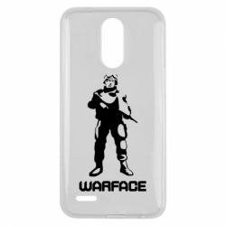 Чехол для LG K10 2017 Warface - FatLine
