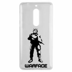 Чехол для Nokia 5 Warface - FatLine