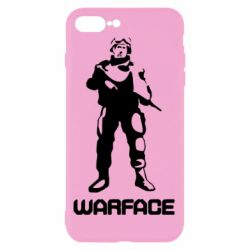 Чехол для iPhone 7 Plus Warface - FatLine