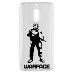 Чехол для Nokia 6 Warface - FatLine