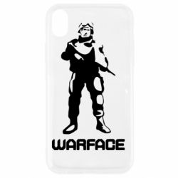 Чехол для iPhone XR Warface - FatLine