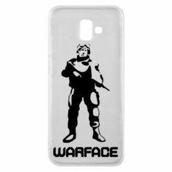 Чехол для Samsung J6 Plus 2018 Warface - FatLine