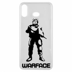 Чехол для Samsung A6s Warface - FatLine
