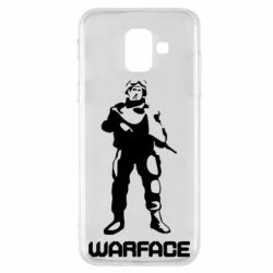 Чехол для Samsung A6 2018 Warface - FatLine