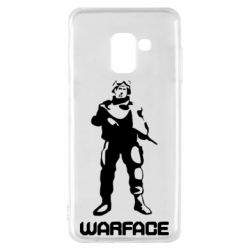 Чехол для Samsung A8 2018 Warface - FatLine