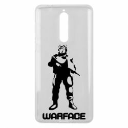 Чехол для Nokia 8 Warface - FatLine