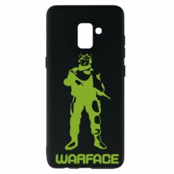 Чехол для Samsung A8+ 2018 Warface - FatLine