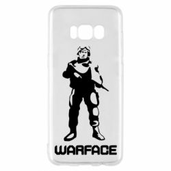 Чехол для Samsung S8 Warface - FatLine