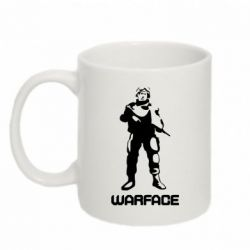 Кружка 320ml Warface