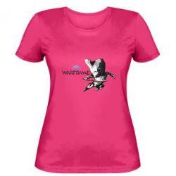 Женская футболка Warframe Excalibur