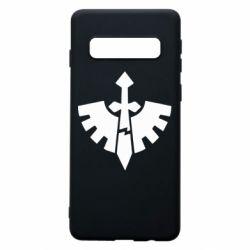 Чехол для Samsung S10 Warhammer 40k Dark Angels