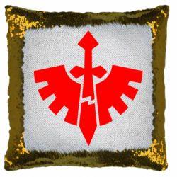 Подушка-хамелеон Warhammer 40k Dark Angels