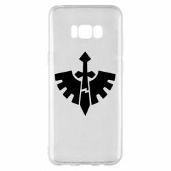 Чехол для Samsung S8+ Warhammer 40k Dark Angels