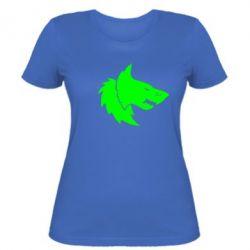 Женская футболка Warhammer Space Wolf