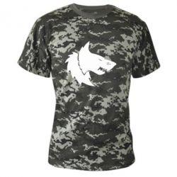 Камуфляжная футболка Warhammer Space Wolf