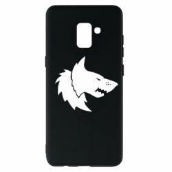 Чохол для Samsung A8+ 2018 Warhammer Space Wolf