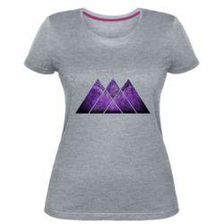 Жіноча стрейчева футболка Warlock Destiny