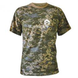 Камуфляжная футболка Warlock - FatLine
