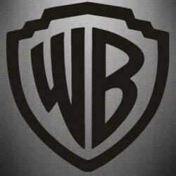 Наклейка Warner brothers