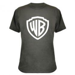Камуфляжна футболка Warner brothers