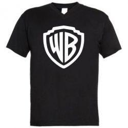 Чоловіча футболка з V-подібним вирізом Warner brothers