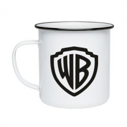 Кружка емальована Warner brothers