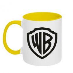 Кружка двоколірна 320ml Warner brothers