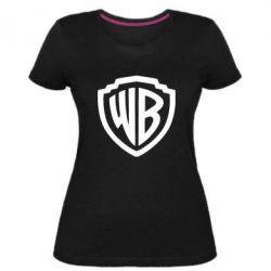 Жіноча стрейчева футболка Warner brothers