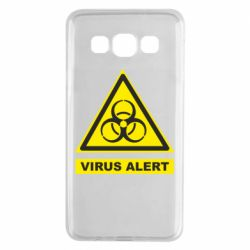 Чехол для Samsung A3 2015 Warning Virus alers