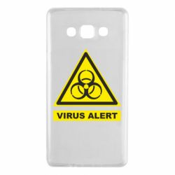 Чехол для Samsung A7 2015 Warning Virus alers