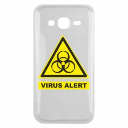 Чехол для Samsung J5 2015 Warning Virus alers