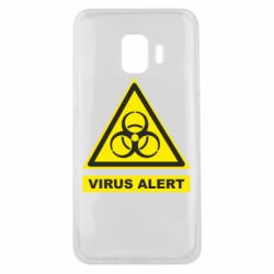 Чехол для Samsung J2 Core Warning Virus alers