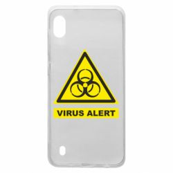 Чехол для Samsung A10 Warning Virus alers