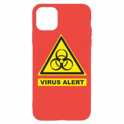 Чехол для iPhone 11 Pro Warning Virus alers
