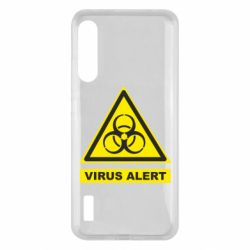 Чохол для Xiaomi Mi A3 Warning Virus alers